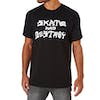 Thrasher Skate Destroy Short Sleeve T-Shirt - Black