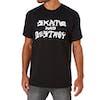 T-Shirt de Manga Curta Thrasher Skate Destroy - Black