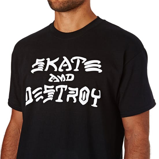 Thrasher Skate Destroy Short Sleeve T-Shirt