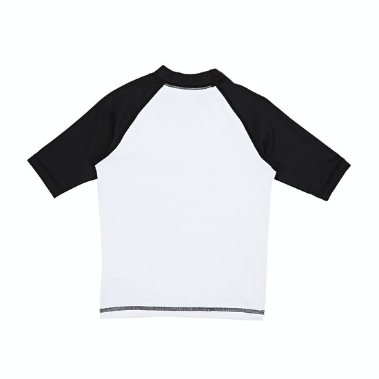 Quiksilver Bubble Dream Short Sleeve Boys Rash Vest