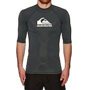 Quiksilver Heater Short Sleeve Rash Vest
