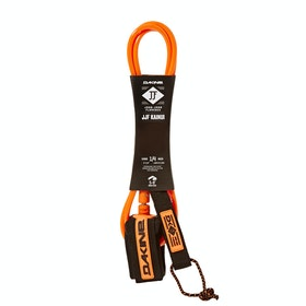 Dakine John John Florence Kainui Surf Leash - Black Orange