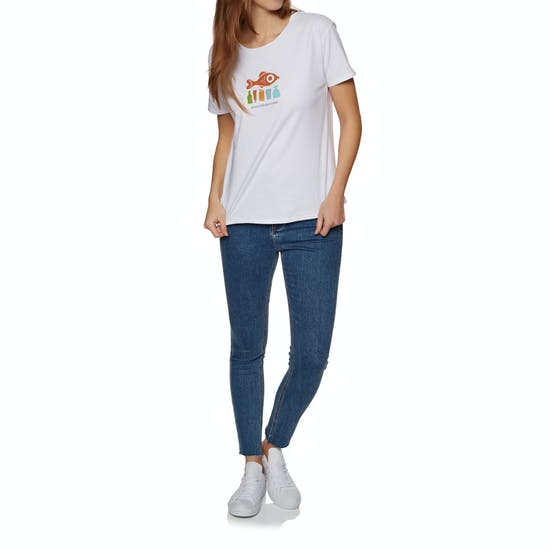 2 Minute Beach Clean Ladies Ladies Short Sleeve T-Shirt