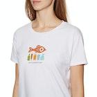 2 Minute Beach Clean Ladies Ladies Short Sleeve T-Shirt