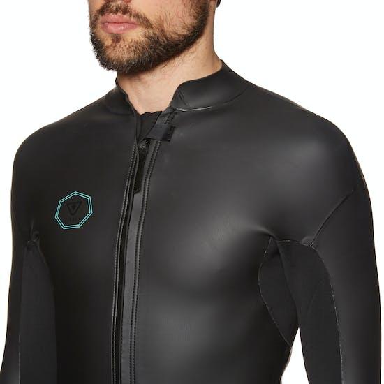 Wetsuit Jacket Vissla North Seas Smoothy 2mm 2019 Front Zip