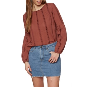 The Hidden Way Leigh Womens Top - Rust