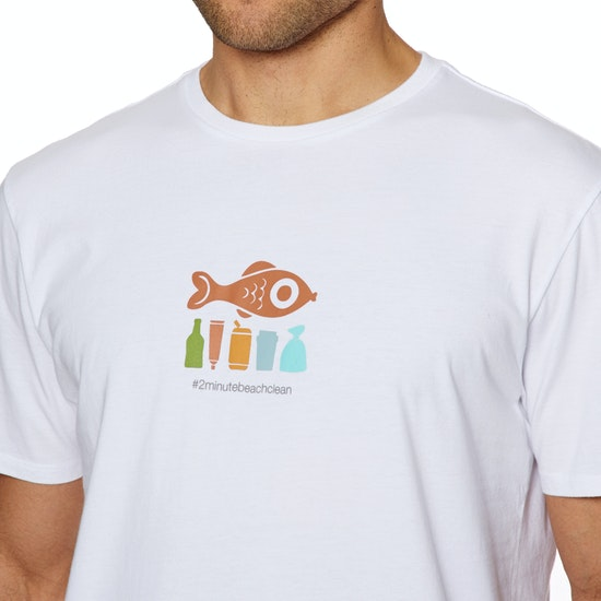 T-Shirt à Manche Courte 2 Minute Beach Clean Mens