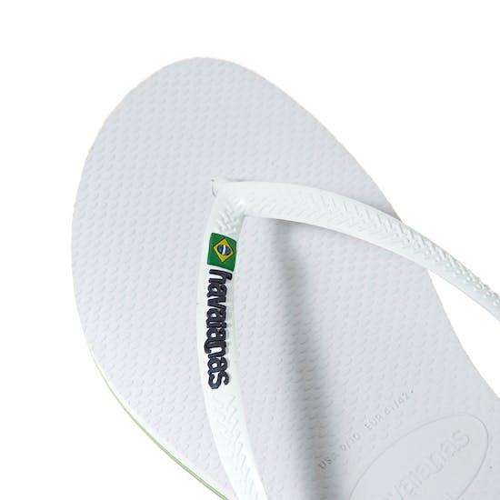 Sandalias Mujer Havaianas Slim Brasil Logo