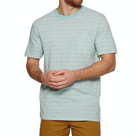 T-Shirt a Manica Corta RVCA Double Dip