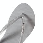 Havaianas Slim Logo Metallic Ladies Sandals