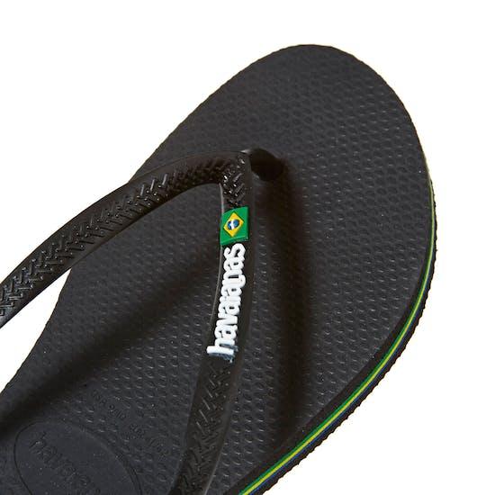 Havaianas Slim Brasil Logo Ladies Sandals