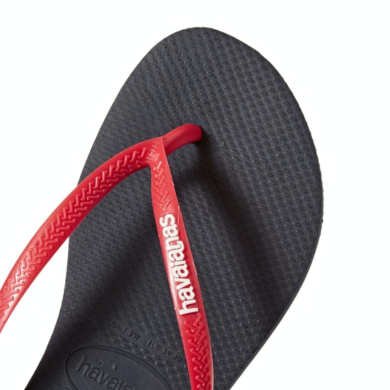 Havaianas Kids Slim Logo Girls Sandals