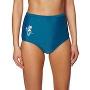 Pieza inferior de bikini Nine Islands Piper Embroidered High Waist Pant