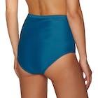 Nine Islands Piper Embroidered High Waist Pant Bikini Bottoms