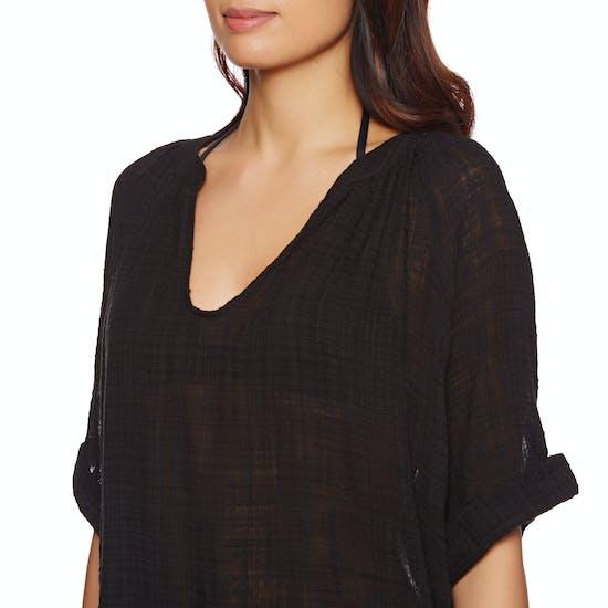 Vestido Seafolly Textured Gauze Beach Shirt