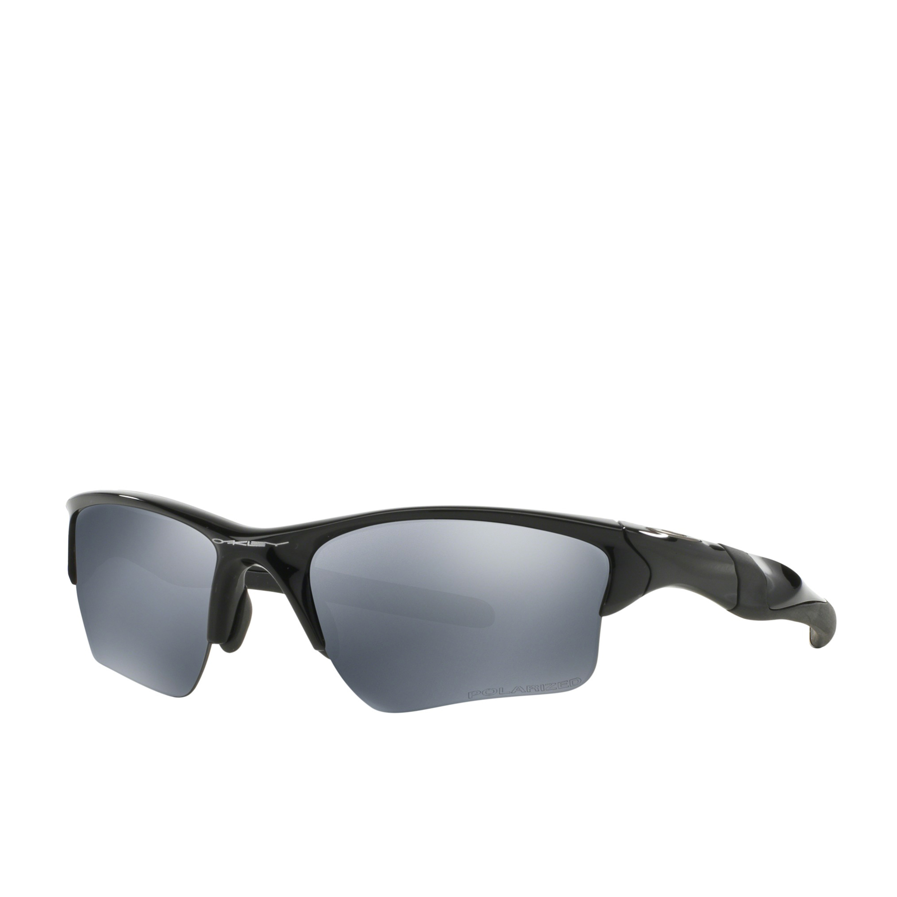 Oakley Half Jacket 2.0 XL Mens Sunglasses - Polished Black ~ Black Iridium