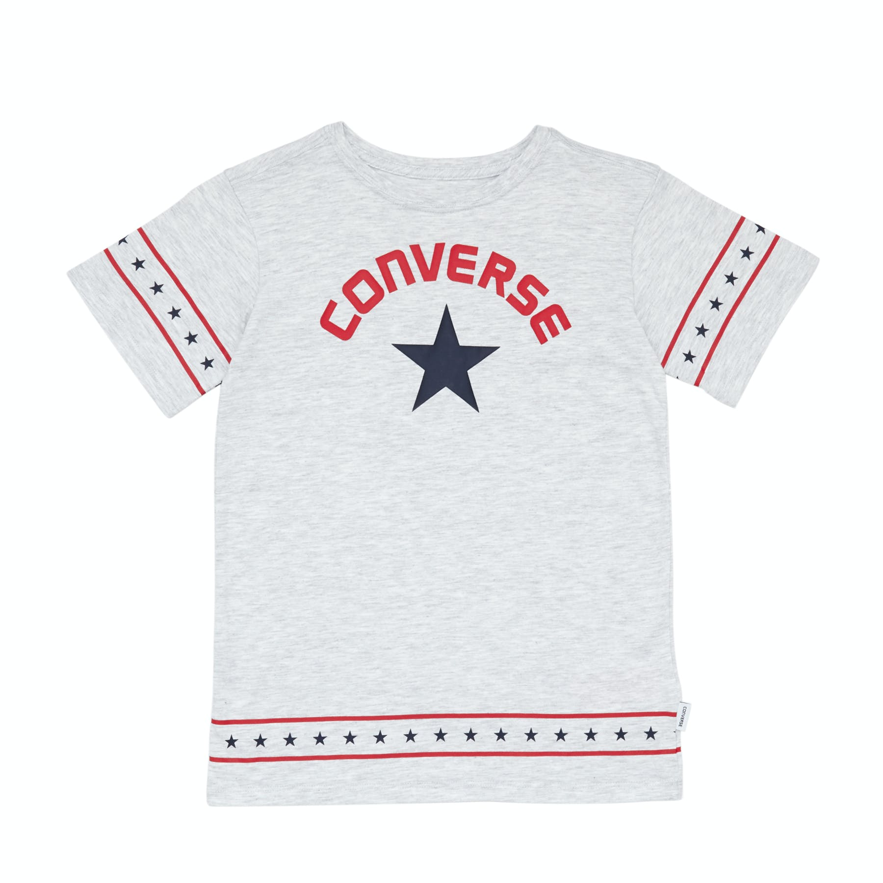 Converse Star Trim Girls Short Sleeve T-Shirt