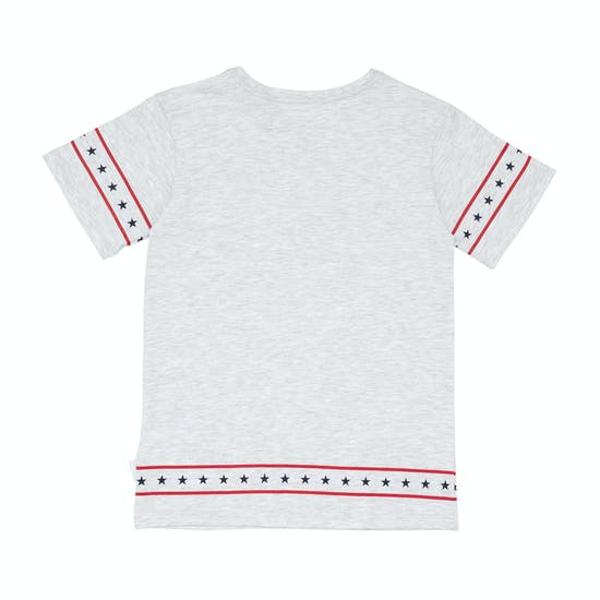 Converse Star Trim Girls Short Sleeve T-Shirt