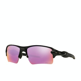 Oakley Flak 2.0 XL Sunglasses - Polished Black ~ Prizm Golf