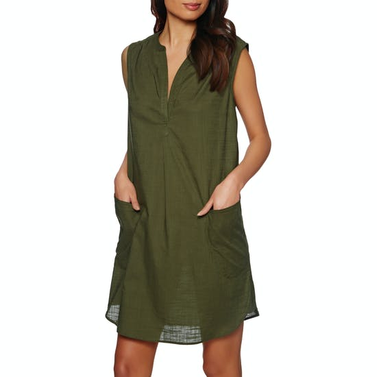 Seafolly Sleeveless Beach Shirt Dress