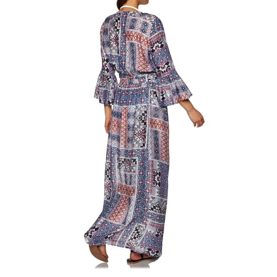 Seafolly Coastal Tribe Maxi Wrap Kleid