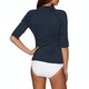 Seafolly Three Quarter Sleeve Rash Vest