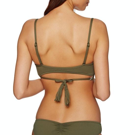 Seafolly Wrap Front Bralette Bikini Top