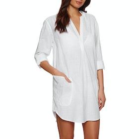 Seafolly Boyfriend Beach Womens Shirt - White
