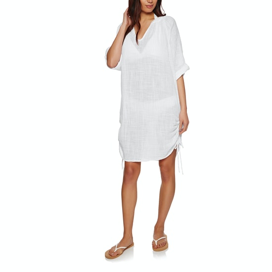 Seafolly Textured Gauze Beach Shirt Dress