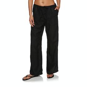 Seafolly Wide Leg Beach Womens Trousers - Black