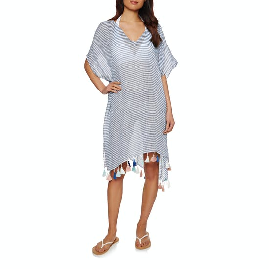 Seafolly Linen Stripe Dress