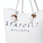 Seafolly Carried Away Ship Sail Ladies Beach Bag