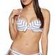 Seafolly Inka Stripe Bustier Bra Bikinioberteil