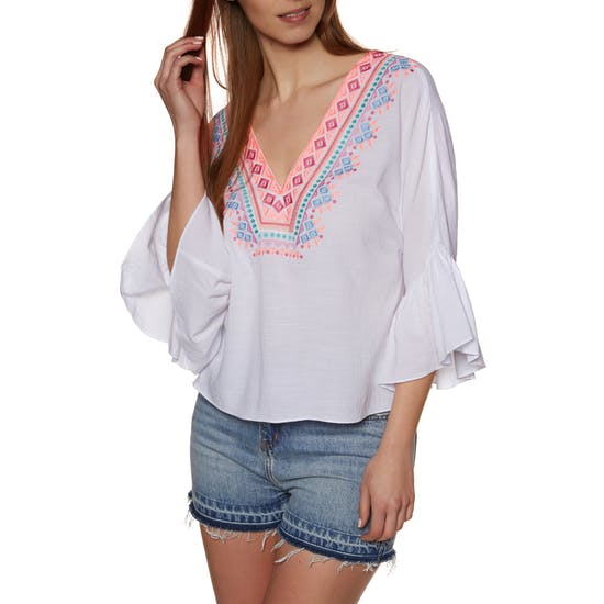 Seafolly Tribal Embroidered Ladies Top