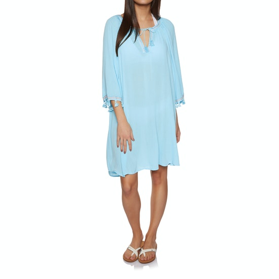 Seafolly Tassel Trim Cover Up Dress