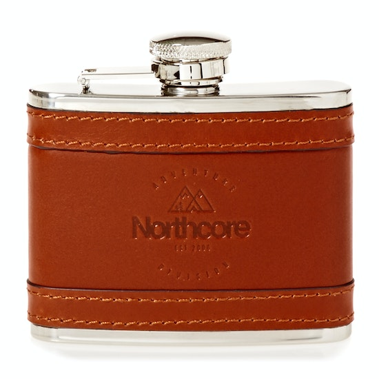 Northcore Adventure 4 oz Leather Hip Flask