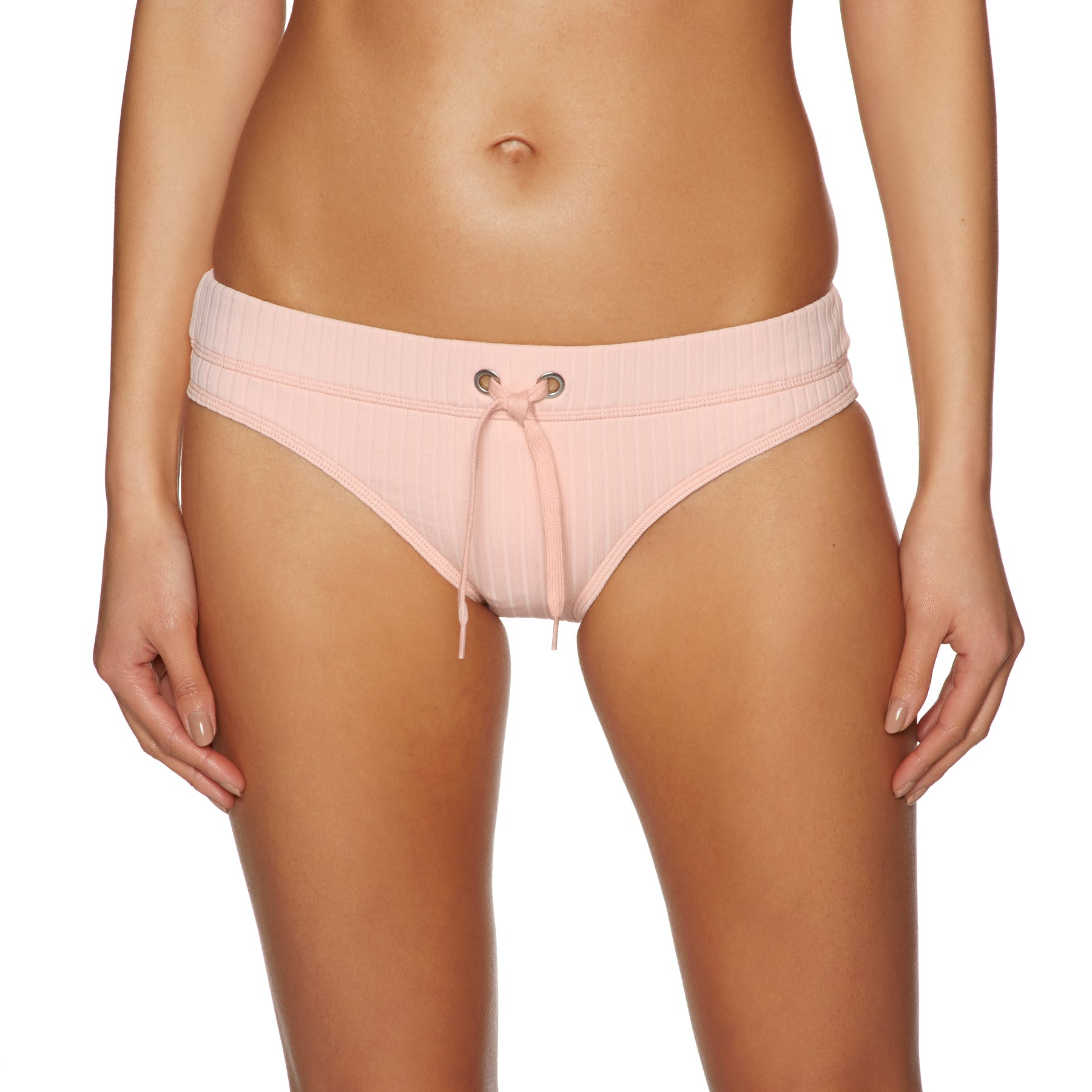 Seafolly Inka Rib Banded Hipster Bikini Bottoms
