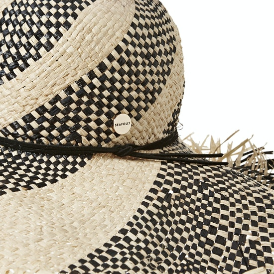 Seafolly Shady Lady Wide Brim Fedora Ladies Hat