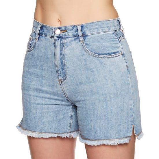 Seafolly Denim Boyfriend Damen Shorts