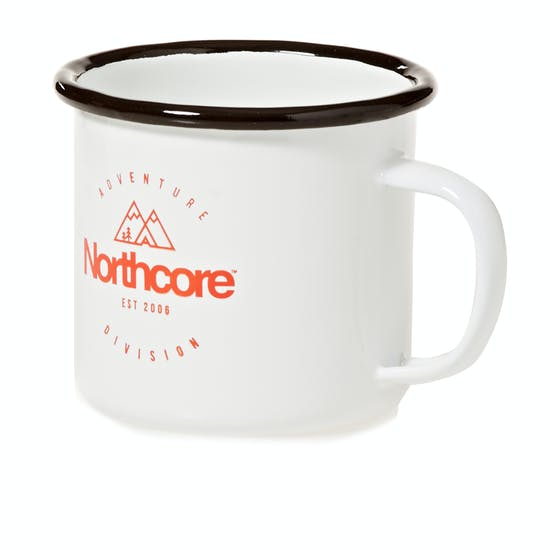 Northcore Adventure Division Enamel Steel Mug