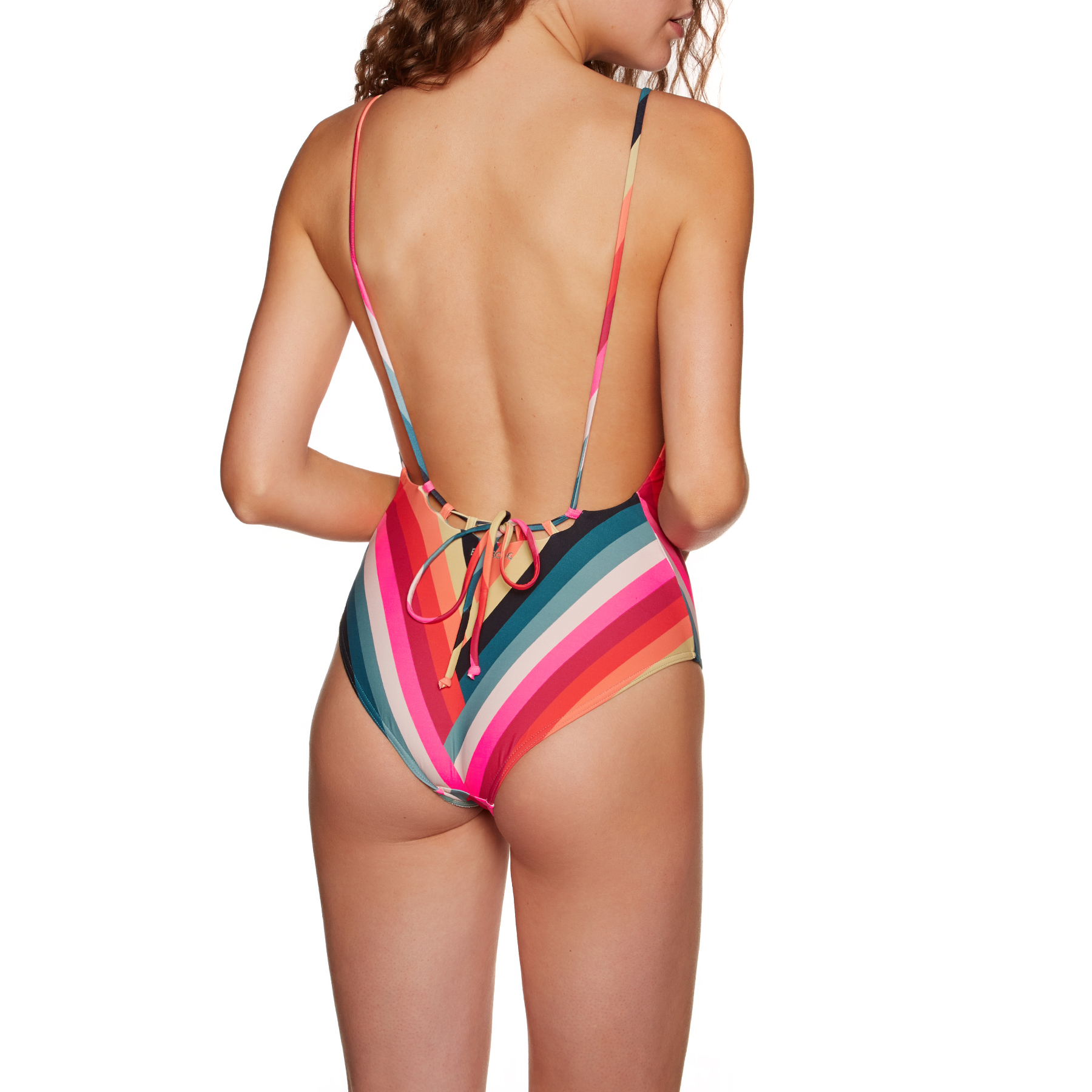 Billabong Womens Color Spell One Piece Swimsuit
