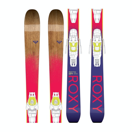 Roxy Dreamcatcher 78 With Lithium 10 Bindings Skis