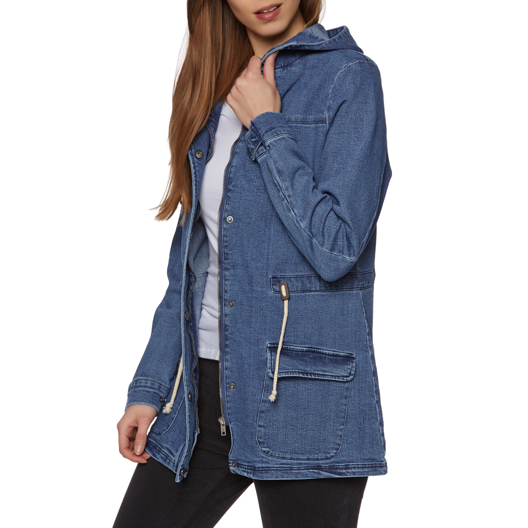 Blue All Sizes Swell Linlay Womens Hoody