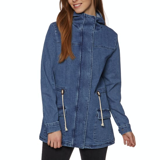 SWELL Gatherer Denim Anorak Ladies Jacket