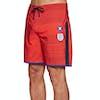 Boardshort Hurley Phantom England National Team 18in - Challenge Red