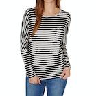 O'Neill Jacks Base Striped Ladies Long Sleeve T-Shirt