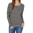 O'Neill Jacks Base Striped Ladies Long Sleeve T-Shirt