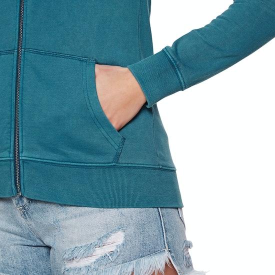 Camisola de Capuz com Fecho Senhora Rip Curl Pacific Light Fleece