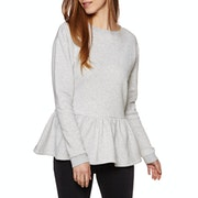 SWELL Tia Peplum Crew Womens Sweater