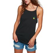 Hurley Pineapple Patch Ringer Ladies Tank Vest